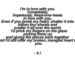 broken hearts, quotes, and words image