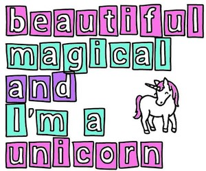 unicorn and magical image