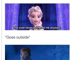 anna, cold, and frozen image