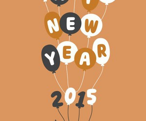 balloons, happiness, and new year image