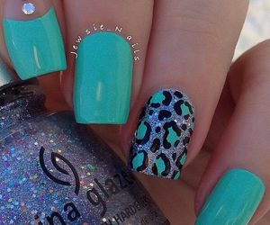 nails, cute, and beauty image