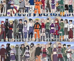 ino, kiba, and rock lee image