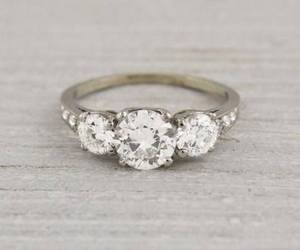 beautiful, ring, and wedding image