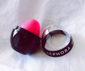 sephora, pink, and lipstick image