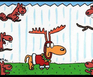 doggie, reindeer, and cute image