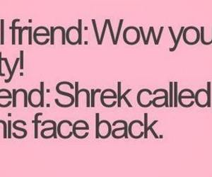 shrek, funny, and friends image