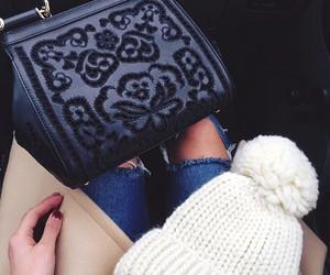 bag, details, and fashion image