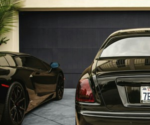 black, car, and rich image