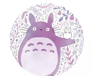 anime, totoro, and love image