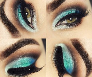 beauty, eyeshadow, and makeup image