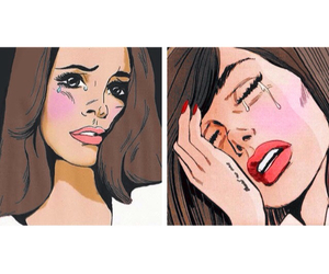 art and lana del rey image