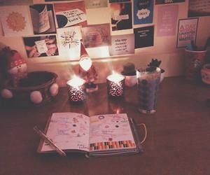 dorm, girly, and writing image