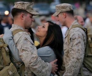 love, army, and military image