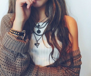 cardigans, fashion, and white top image