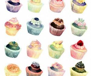 cupcake and art image