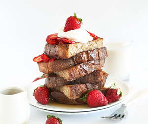 breakfast, french toast, and food image