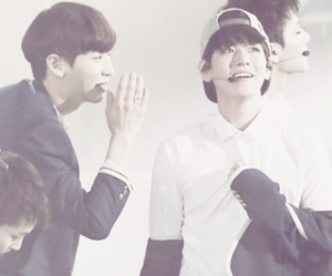 exo, chanyeol, and baekhyun image