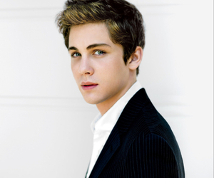 logan lerman, boy, and Hot image