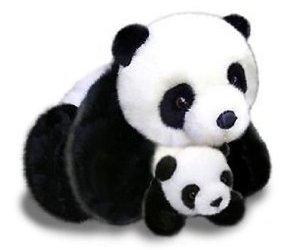 panda, plush, and stuffed animal image