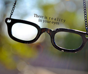 glasses and text image