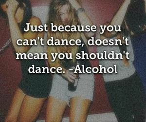 alcohol, dance, and party image