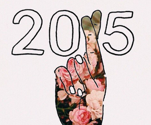 2015 and flowers image