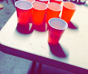 beer pong, yolo, and tecate image