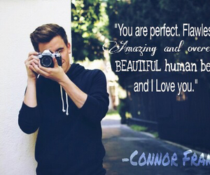 beautiful, camera, and Connor image