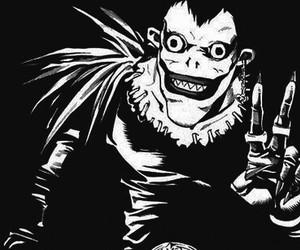 death note, anime, and ryuk image