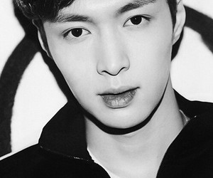 black n white, exo, and lay image
