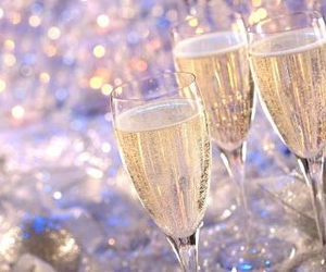 champagne, party, and 2013 image