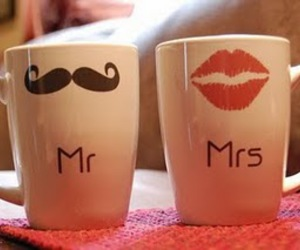 mrs, mr, and mustache image