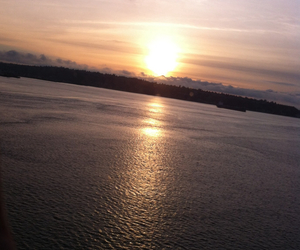 beautiful, river, and seattle image