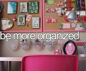 organized, bucket list, and 2015 image