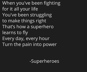 be strong, fly, and heroes image