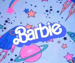 barbie, blue, and pastel image