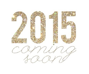 2015, new year, and gold image