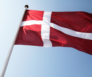 denmark, flag, and grass image