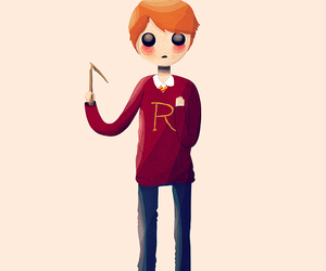 drawing, harry potter, and hogwarts image