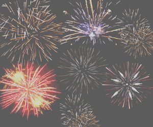fireworks and 2015 image