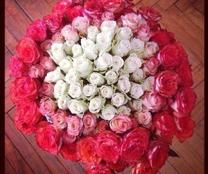 flower, cute, and bouquet of flowers image