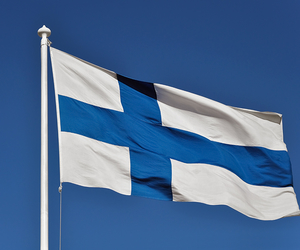 finland, flag, and independence image