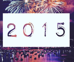 fireworks, happy, and 2015 image