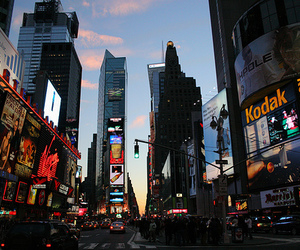 beautiful, times square, and city image