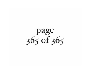 365, end, and page image