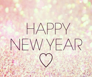 beginning, glitter, and happy new year image