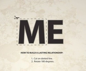 Relationship, we, and me image