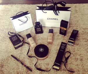 chanel, make up, and cosmetics image
