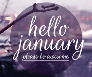 january, new year, and 2017 image