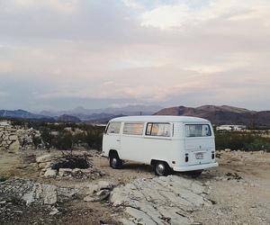 travel, van, and nature image